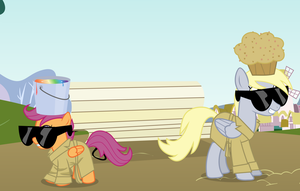 Manehattan Project 2 Panel 3 by mandydax