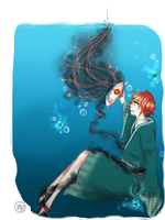 In the water ? by Niniwine