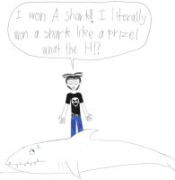 Thatch won a shark by longshot09