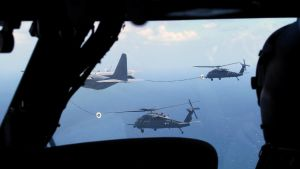 Aerial Refueling by Mydin