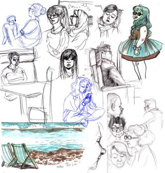 Life sketches by julitka