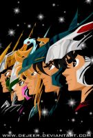 saint seiya by deJeer