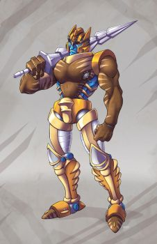 Dinobot: Beast Wars Transformers by ZeroMayhem
