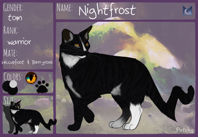 Nightfrost ref by PatchyFallenstar