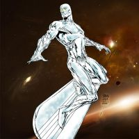 Silver Surfer Finch-Stone-Me by pascal-verhoef