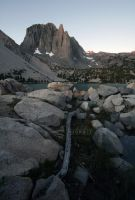 First Light on Temple Crag by Roonwit