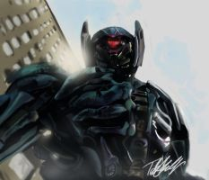 Transformers: shock wave by bst14