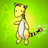 Ampharos by ToadsDontExist
