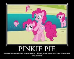 Pinkie Pie Motivational Poster by xDragonSquidx