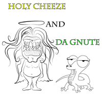Holy Cheeze and Da Gnute by MaxDaMonkey