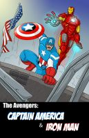Captain America and Iron man Assembled. by scootah91