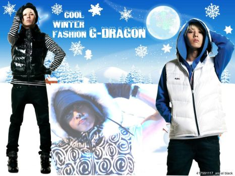G-Dragon Cool winter fashion by 417991117