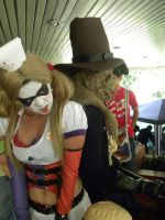 Harley and Scarecrow 2 by jaycr