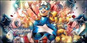 American Girl Tag by Qbertfx