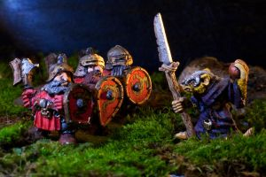 Dwarven Troops vs Skaven by eastphoto99