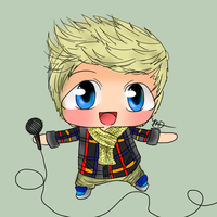 Niall Horan Chibi by AngelNightmare1441