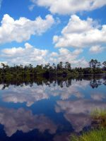Mirrored Sky by EvilYankee