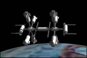 Space Station Clip by timelike01