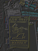 Link Wray at Mabel's Poster by EudaemonicPlague