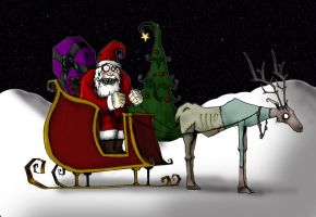 Freaky Christmas by BeetlejuiceHeart