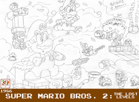MOSM - Super Mario Bros. 2: The Lost Levels by LuigiStar445