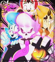 The Ghosty Gang by ToxicSoul77