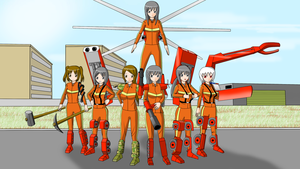 China fire brigade by redcomic