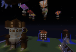 Minecraft Steampunk Town by dracosear