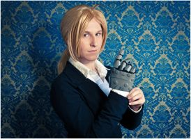 Fullmetal Alchemist: Brotherhood -  Edward Elric by crazyloststar