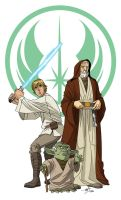 We Three Jedi by TimLevins