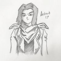 Android 17 -jacket- re shade by Metalks
