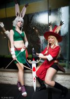 MomoCon: Viera Party by burloire