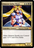 Amazon Sailor Moon Card by SdazVarence