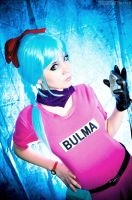 bulma cosplay by neliiell