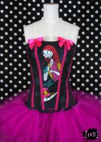 NBC Sally Patchwork Corset by TheVintageDoctor