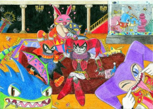A crazy broken family by Anni-Chan97