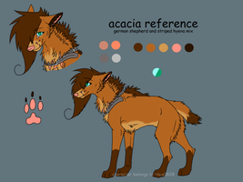 Acacia 2012 reference by thea0828