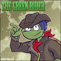 The Green Rider by hpkomic