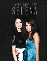 Happy Birthday Selena by ChiariEnchancerGomez