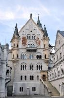 Neuschwanstein - Courtyard by Lauren-Lee