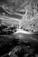 Oulanka National Park .IR. by 1uno