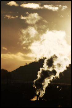 Steam Skies. by XthexendX