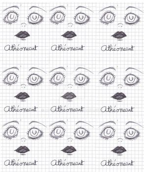 Eyes by AtheoneArt