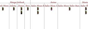 Sailor Pluto Sprites by S-Earth-Girl