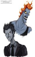 Hades and Pitch by Amadeo-Amadeo