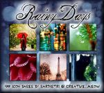 Icon Bases: Rainy Days by Sardistri