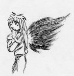 Kano with Wings by nekozikasilver1