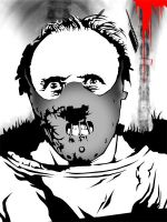 Hannibal Lecter by zxerokool