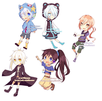 Chibi Style 02 Batch 01 by yui-22