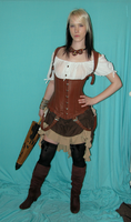 Steampunk Gypsy Stock 2 by KristabellaDC3